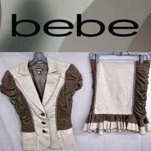 BEBE Professional Skirt Suit